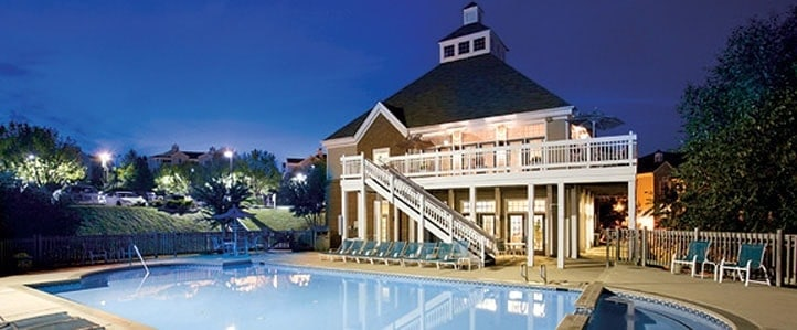 Luxury Charlottesville Apartments with pool