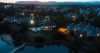 Lakeside Apartments Drone View