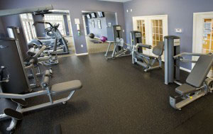 The Lakeside Fitness Room