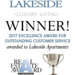 Lakeside Won 2017 Customer Service Excellence Award!