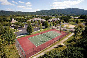 The Tennis Courts at Lakeside