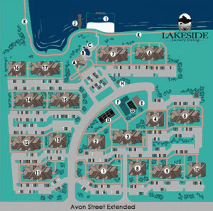 Lakeside Apartments in Charlottesville Map